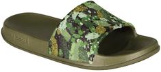Coqui Chlapčenská obuv 7083 Army green camo 7083-203-2600
