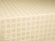 SCANquilt Obrus KAN 23976 krémová 40x40