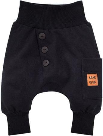 Pinokio fiú nadrág Bears Club, 74, fekete