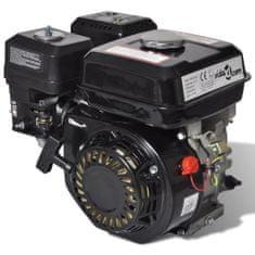 4,8 kW čierny benzínový motor