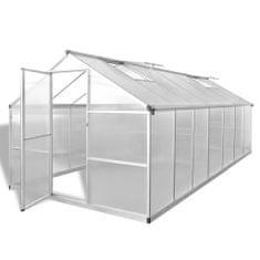 Petromila Skleník zpevněný hliník 10,53 m²