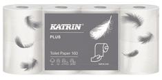 HARMASAN Katrin Plus Toilet 160 toaletní papír 100% celulóza 8 kusů
