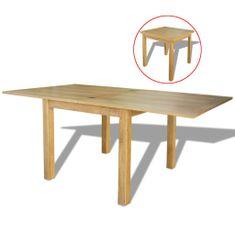shumee Rozkládací stůl dub 170x85x75 cm