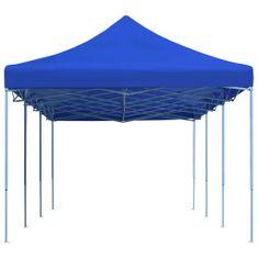 Skladací párty stan modrý 3x9 m
