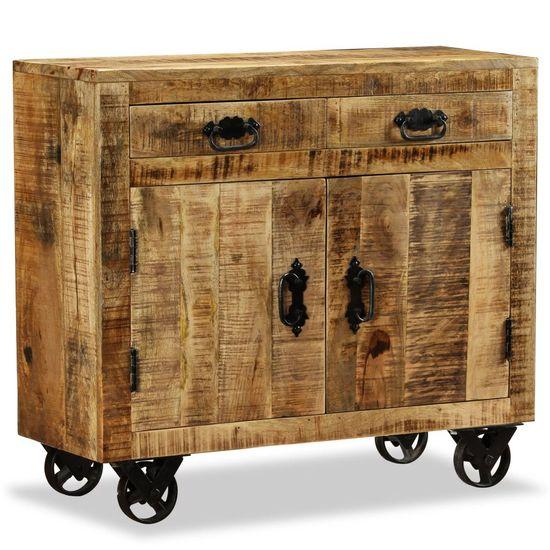 Komoda s 2 zásuvkami a 1 skrinkou z mangového dreva