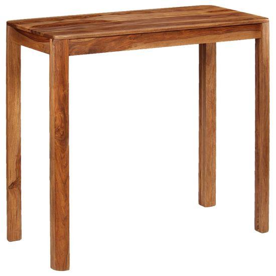 shumee Barový stůl 115 x 55 x 107 cm masivní sheeshamové dřevo