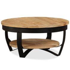 shumee Konferenční stolek hrubé mangovníkové dřevo 65 x 32 cm