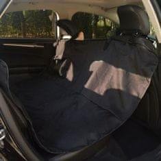 Pokrowiec na tylne siedzenie dla zwierząt, 148x142 cm, czarny