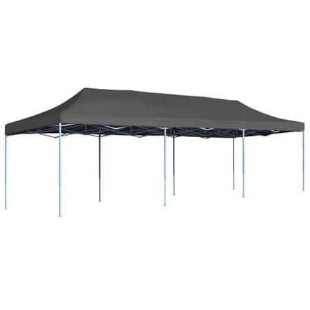 shumee Składany namiot imprezowy, 3 x 9 m, antracytowy