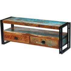 shumee TV stolek z masivního recyklovaného dřeva