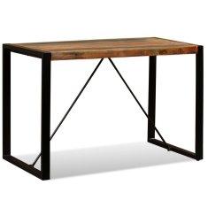 shumee Jídelní stůl z masivního recyklovaného dřeva, 120 cm
