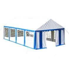 shumee kék rendezvénysátor 4 x 8 m