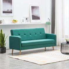 shumee zöld szövet kanapé