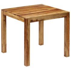 Petromila Jídelní stůl z masivního sheeshamového dřeva 82 x 80 x 76 cm