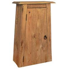 Petromila Koupelnová nástěnná skříňka recyklované borové dřevo 42x23x70
