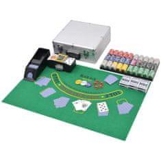 shumee Sada na poker/blackjack so 600 ks žetónov, hliníková