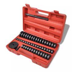 shumee Zestaw naprawczy do łożysk/uszczelek, 51 elementów, 18-65 mm