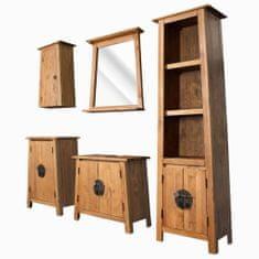 shumee Sada koupelnového nábytku 5 kusů z masivní recyklované borovice