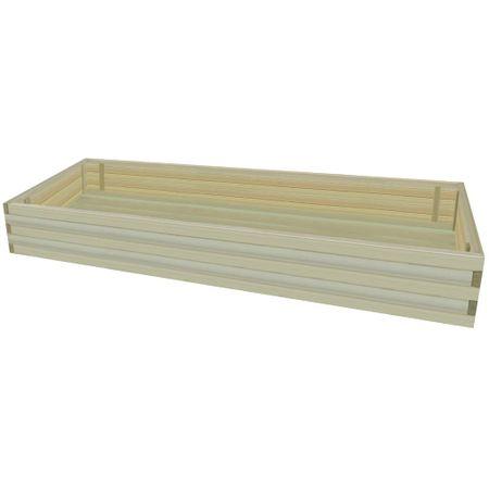 Skrzynia ogrodowa, impregnowane drewno sosnowe, 197 cm