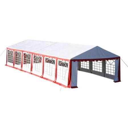 shumee Namiot imprezowy 12 x 6 m, czerwony