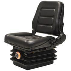 Fotel do wózka widłowego/ciągnika z zawieszeniem i oparciem