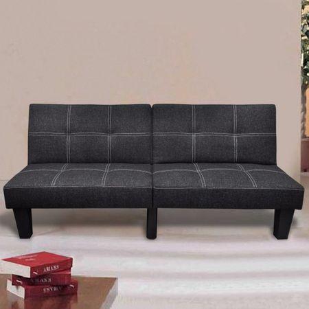 shumee fekete dönthető szövet kanapéágy