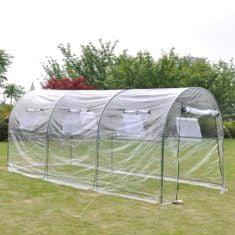 shumee Záhradný skleník/veľký prenosný fóliovník