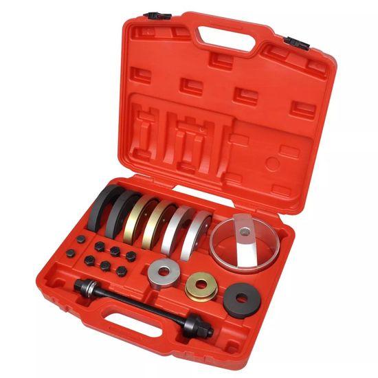 19ks Sada na montáž kompaktních ložisek nábojů kol 62 mm, 66 mm, 72 mm