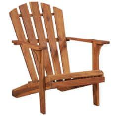 Záhradná stolička Adirondack, akáciový masív