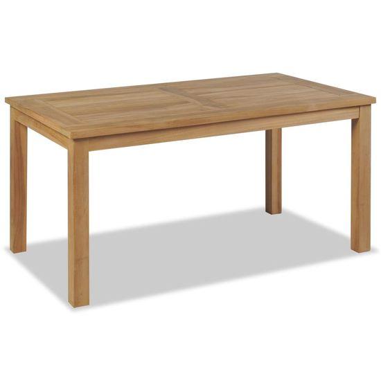 shumee Konferenčný stolík, tíkové drevo 90x50x45 cm