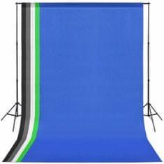 shumee Profesionální foto studio set: 5 pozadí a nastavitelný rám