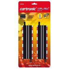 Cartronic Rovné kolejnice k autodráze 2 ks, 17,7 cm
