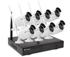 Securia Pro WiFi kamerový set 1MPx WIFI8CHV1-W Nahrávanie: bez disku