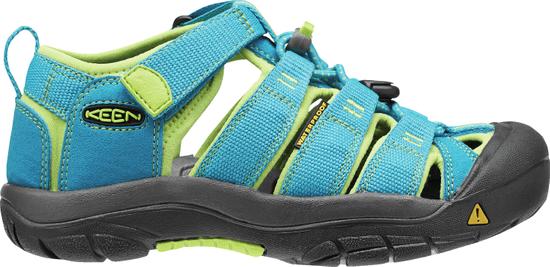 KEEN juniorské sandále Newport H2 K, 24, modrá