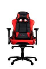 Arozzi Verona XL+ gamerski stol, črno-rdeč