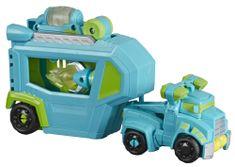 Transformers Rescue Bot autó Hoist utánfutóval