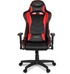 Arozzi Mezzo V2 gamerski stol, črno-rdeč