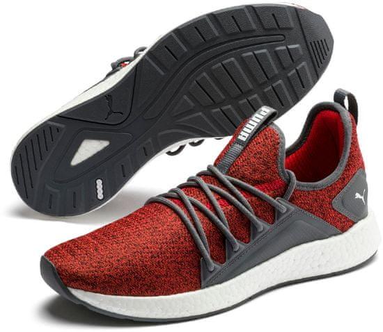 Puma pánska bežecká obuv NRGY Neko Knit 19109324 42 červená