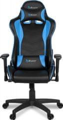 Arozzi Mezzo V2 Fabric gamerski stol, moder