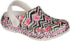 Coqui buty dziewczęce Lindo, White flamingo