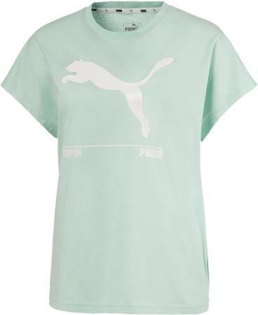 Puma ženska majica Nu tility Tee 581371, M, zelena