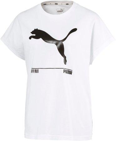Puma ženska majica Nu tility Tee 581371, L, bela