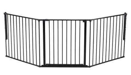 BabyDan Supreme OLAF X zaščitna ograja, 90-225 cm, črna