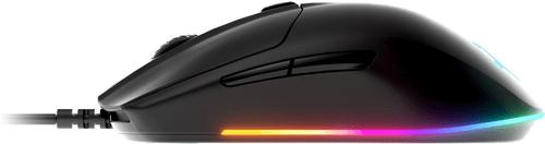 herní myš SteelSeriesRival 3 (62513), TrueMove Core, 60 milionů kliknutí, dlouhá výdrž