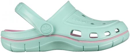 Coqui buty dziewczęce JUMPER 6353 Lt. mint/Pink 6353-100-4438 26/27 zielone
