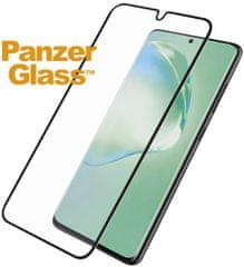 PanzerGlass Edge-to-Edge zaščitno steklo za Samsung Galaxy S20 Plus 7223, črno (Biometric Glass)