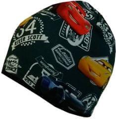 Yetty czapka chłopięca w auta