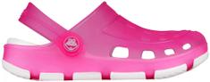 Coqui Dívčí obuv JUMPER FLUO 6363 Fuchsia/White 6363-100-0532
