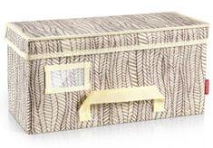 Tescoma pudełko na ubrania FANCY HOME 40 x 18 x 20 cm, kremowe