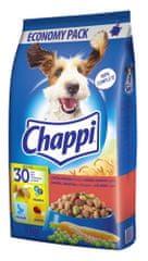 Chappi granule s hovädzím, hydinovým a zeleninou 9 kg